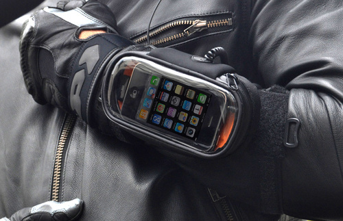 iBike iPhone Halter