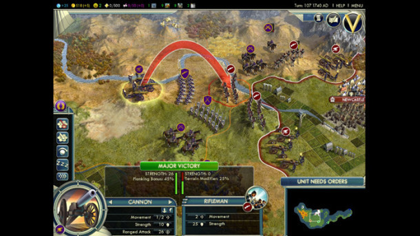 Civilization V mac Screenshots