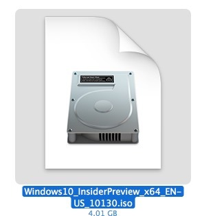 windows iso image erstellen mac