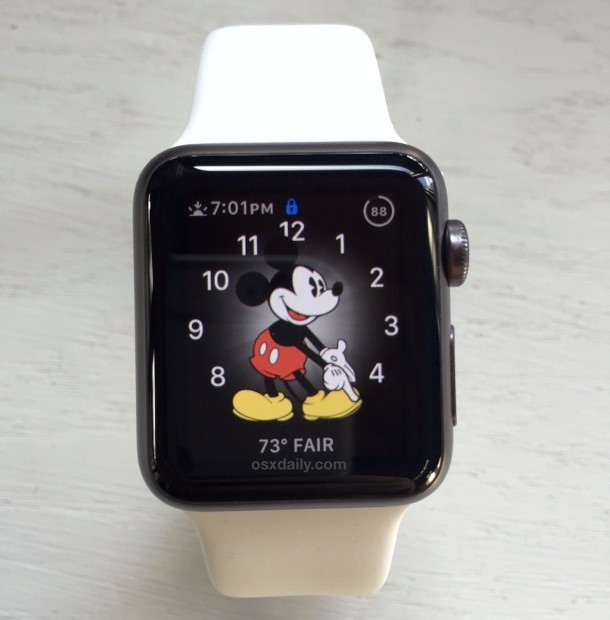 Mickey Mouse Apple Uhr