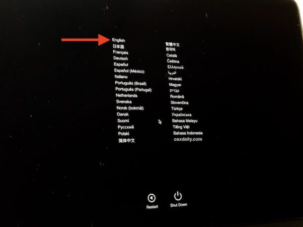 Apple Diagnose auf dem Mac