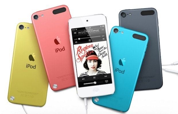 iPod touch Farben