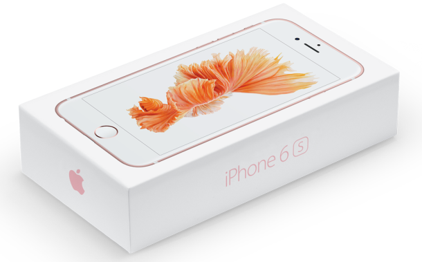 Die iPhone 6S Box