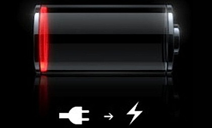 iPhone Batteriestandanzeige